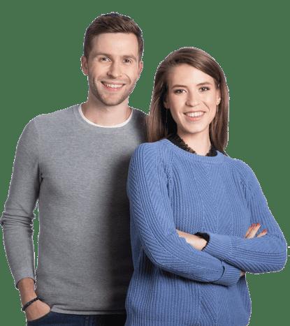 Clément et Aurélie, clients du cabinet d'expertise-comptable pour TPE Dougs