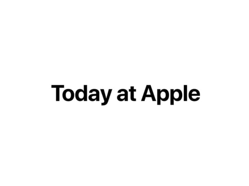 logo for apple today
