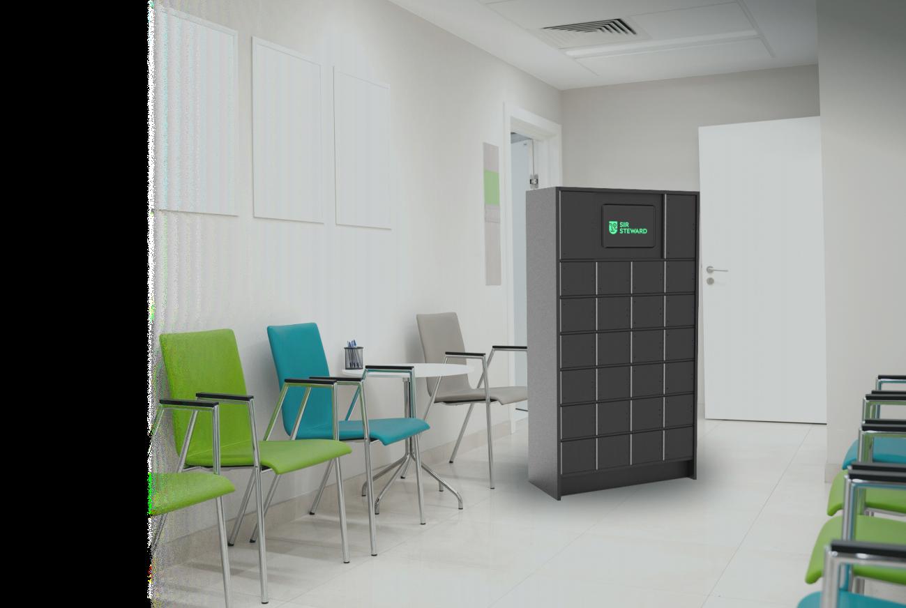 Smart locker to simplify drug distribution in a pharmacy