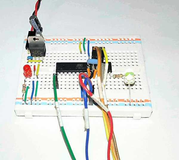 LEDチカチカ完成 cover image