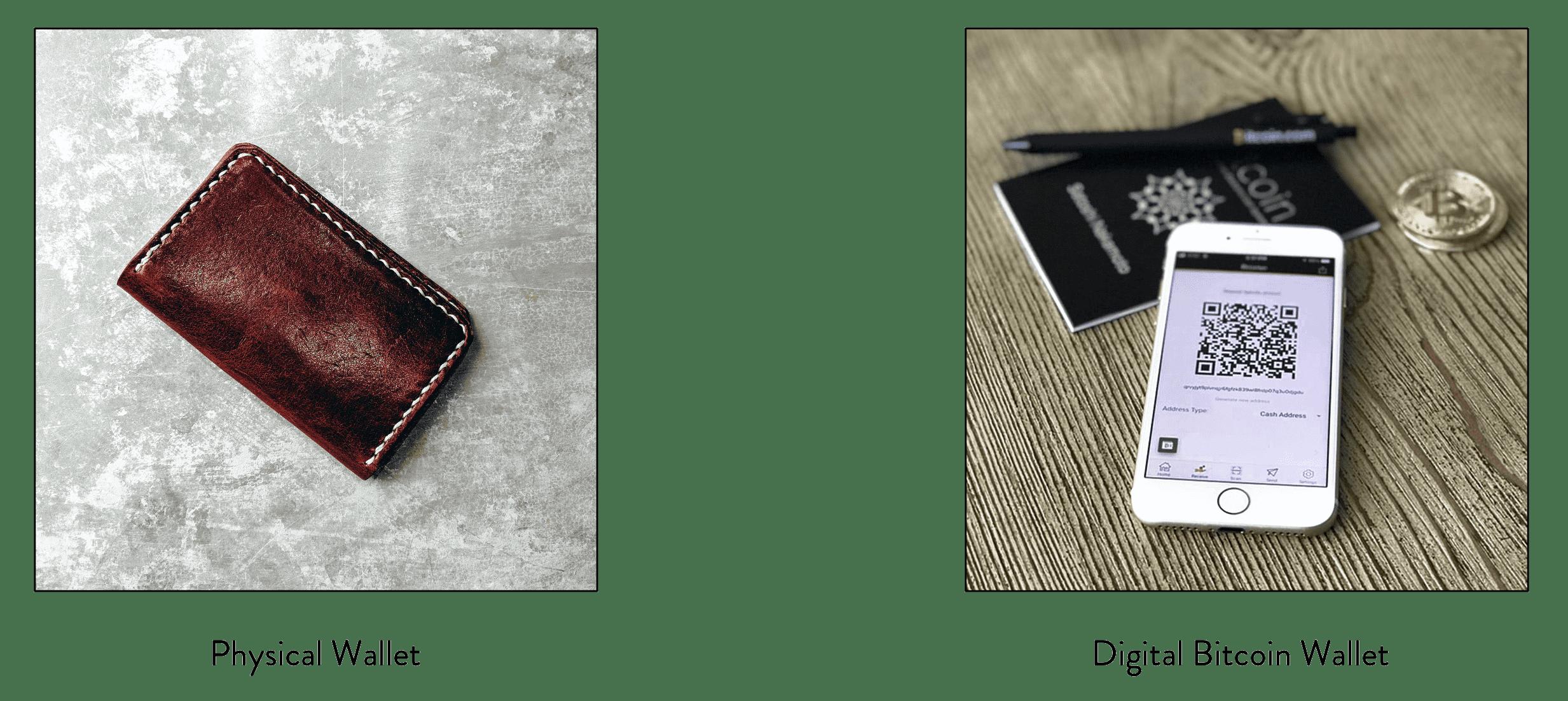 digital wallet physical wallet