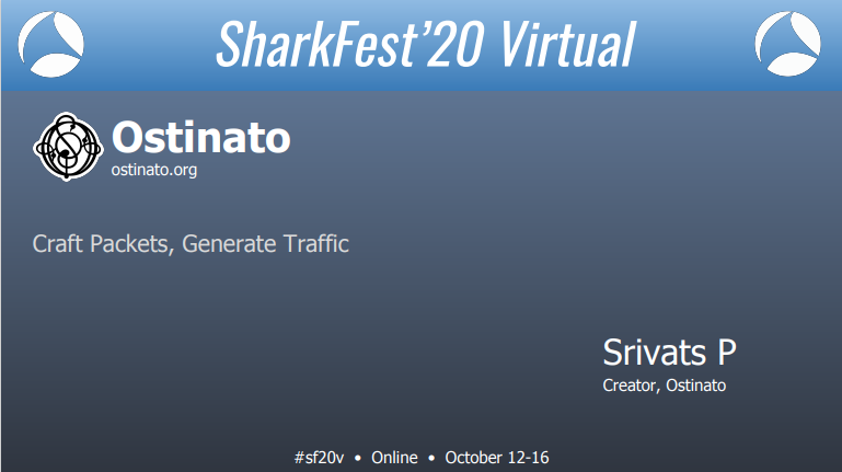 Ostinato at Sharkfest 2020