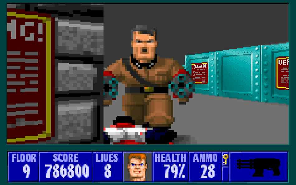 Wolfenstein 3D Mecha-Hitler