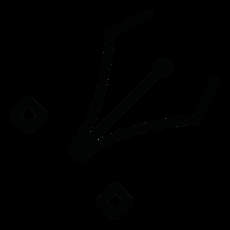 Graphic edit vector spline handles