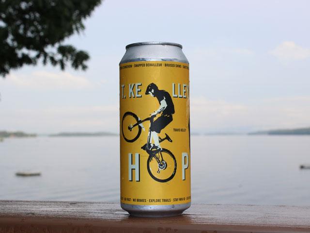 T. Kelley Hop, a IPA brewed by Rek'-lis Brewing Company