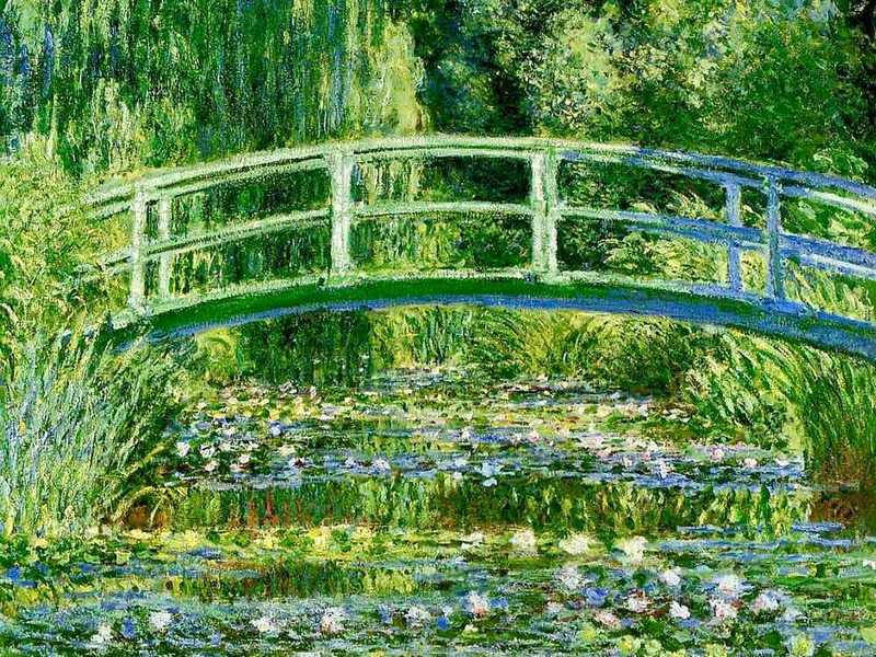 Claude Monet is the most famous impressionist today. His most revered works are of his Water Lily garden at his home in Giverny.