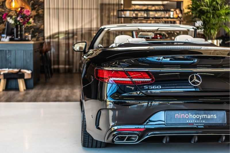 Mercedes-Benz S-Klasse Cabrio 560 | Swarovski | Burmester | 360 graden | Distronic | afbeelding 17
