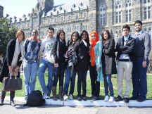 Georgetown student trip, March 2009