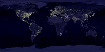 Las luces de la Tierra