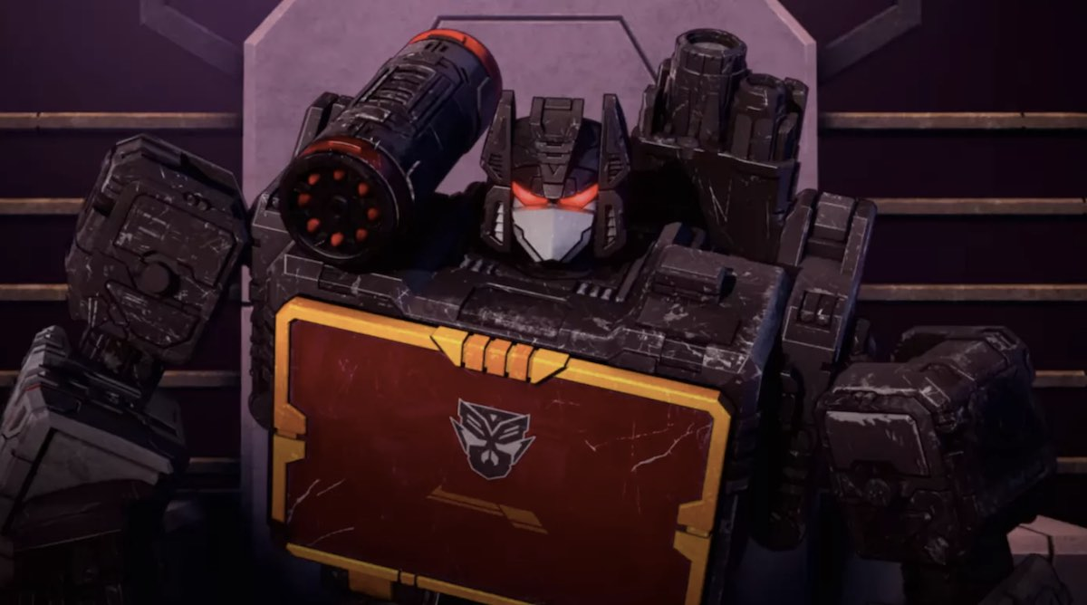Transfromers: War for Cybertron Soundwave