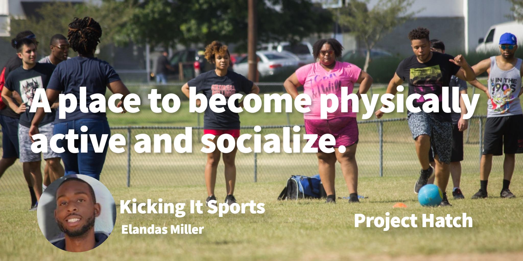 Kicking It Sports  Elandas Miler