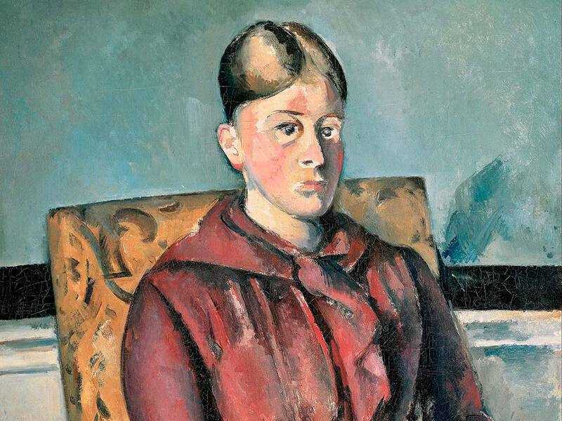 Cezanne painted a number of portraits of Hortense Fiquet, his wife and the mother of his son, before the two became estranged late in his life.