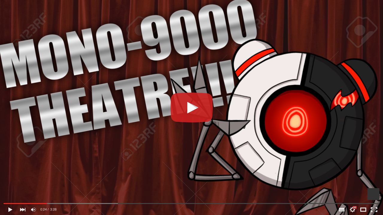 A thumbnail for MONO-9000's apparent youtube channel.