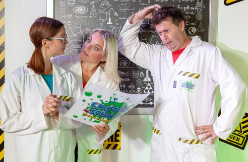 Wiz, bang, pop and splurt - Discover more about Exciting Science