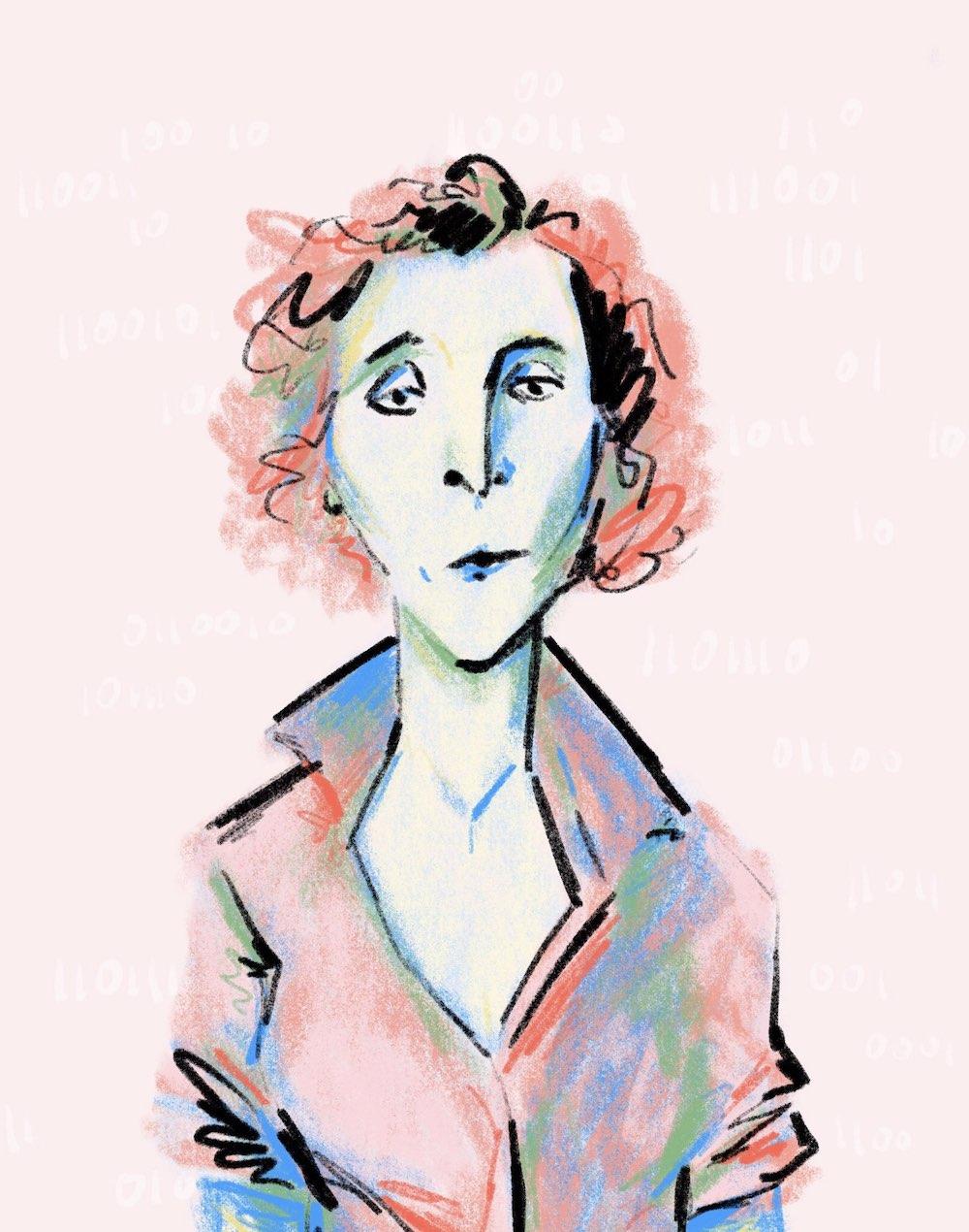 Ellen Ullman portrait