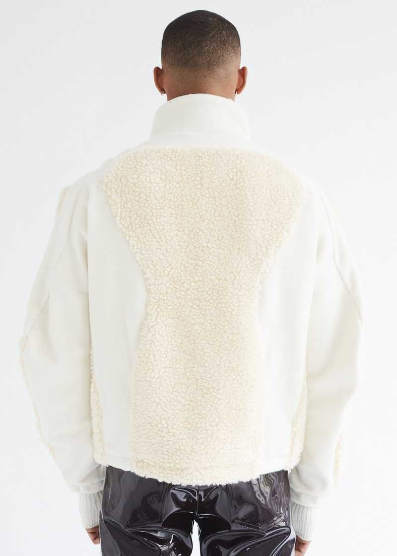 Ercan Jacket Cream back