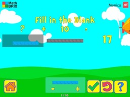 Brix and Base 10: Numbers 11 to 19 are composed a ten and a number of 1's Math Game