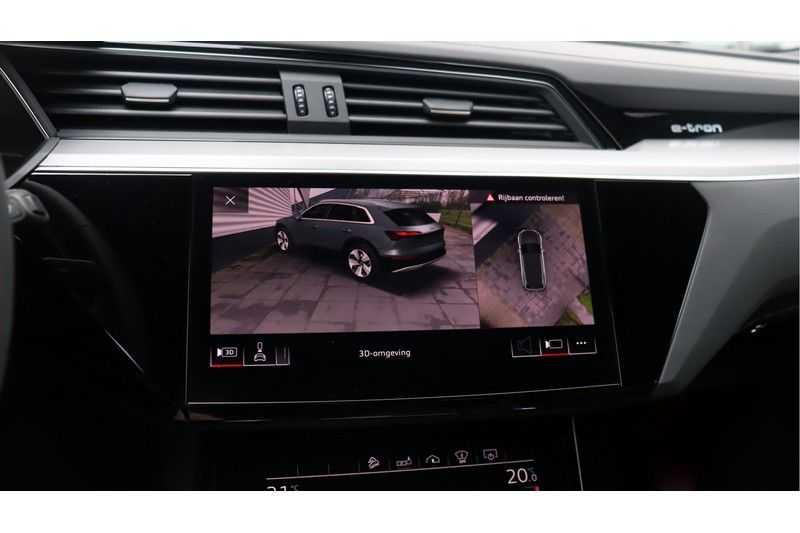 Audi e-tron 55 quattro Advanced S Line excl. BTW Panoramadak, B&O, S Sportstoelen, DAB, Head-Up Display afbeelding 15