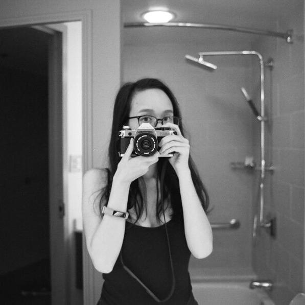 Mirror photo of myself