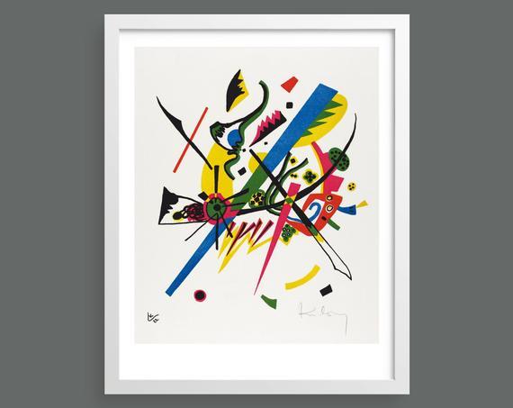 Small Worlds I (Kleine Welten I) by Vasily Kandinsky