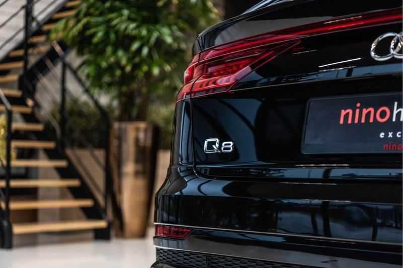 Audi Q8 55 TFSI quattro 3x S-line | PANO | 4 wielsturing | Tour | Trekhaak | Matrix LED | afbeelding 3