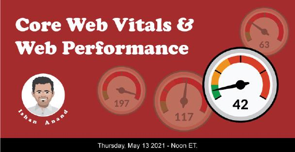 Banner for Core Web Vitals and Web Performance
