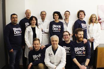 BlockDox team photo
