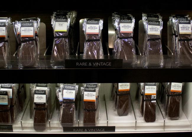 100 percent dark chocolate, hotel chocolat