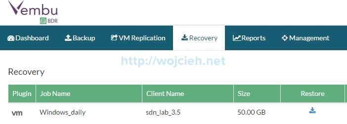 Vembu BDR Suite Review - 16