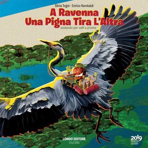 "La copertina di ""A Ravenna una pigna tira l'altra"", Longo Editore"