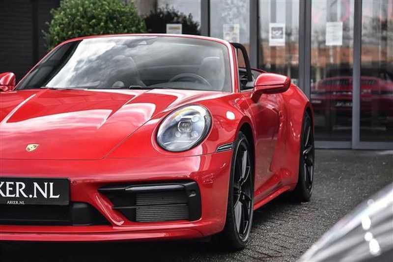 Porsche 911 4S CABRIO SPORTDESIGN+4WSTURING+SPORTCHRONO afbeelding 6