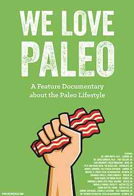 We Love Paleo Credits Poster