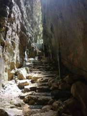 Lower steps to Anapala Chasm
