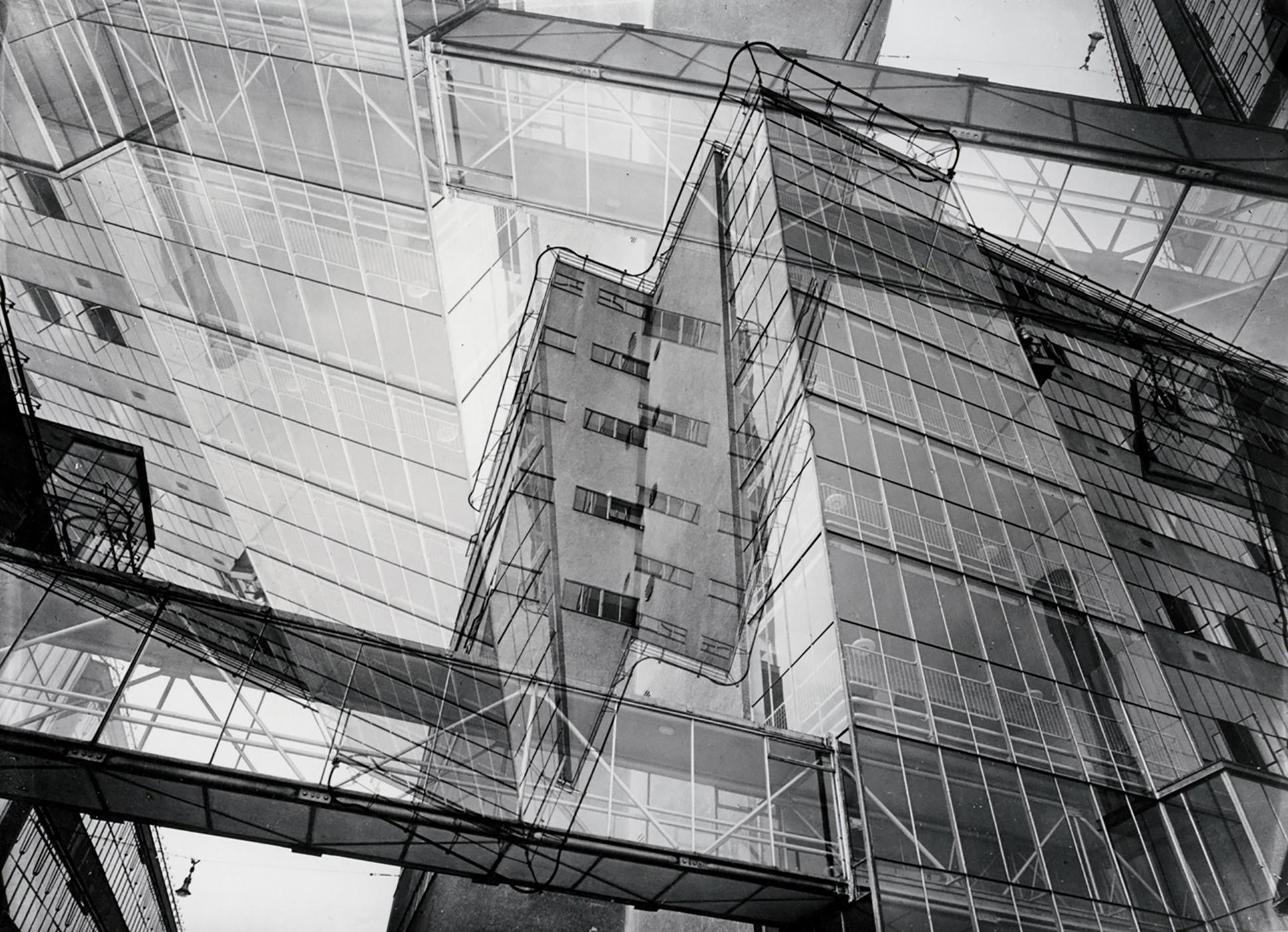 Jan Kamman, Van Nellefabriek. Rotterdam. c. 1930 negatiefmontage