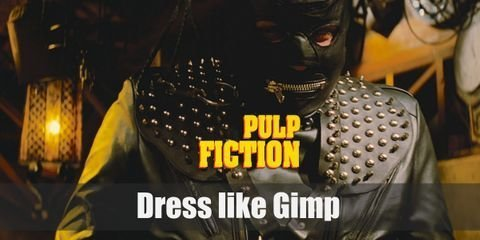 There are two ways of making Gimp's costume. The first one is getting a complete Gimp costume. Still, this suit is really a low quality product, so cosplaying this movie character would be much better if you go for separate pieces of clothes. With this costume, everything is about leather.