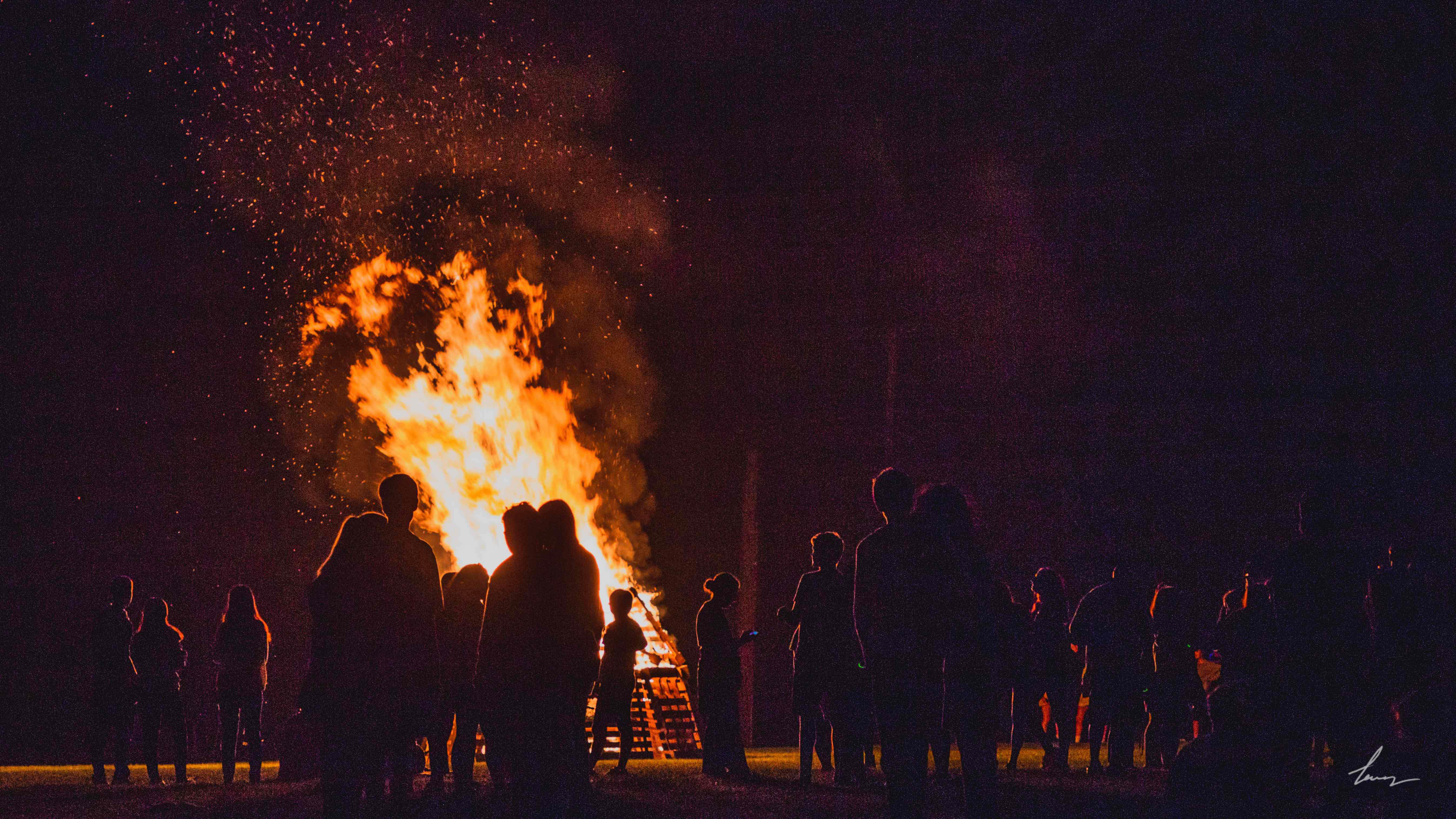Wissahickon High School Student Council Bonfire - Ambler, PA