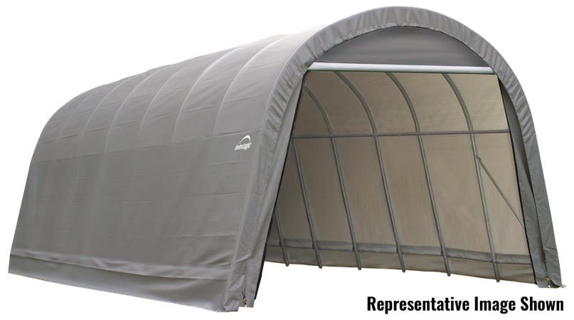 14x20x12 Round Shelter Grey Colour