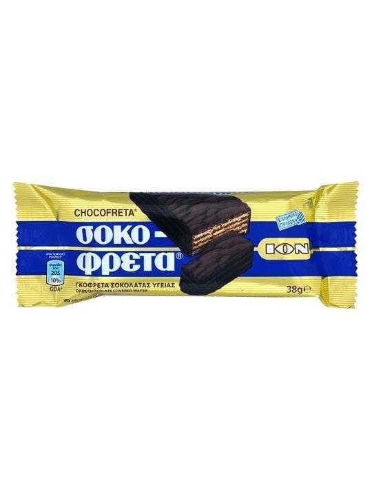 Sokofreta dunkle Schokolade - 38g