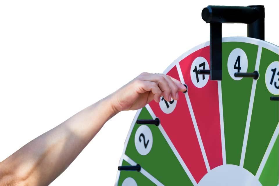 Carnival prize wheel