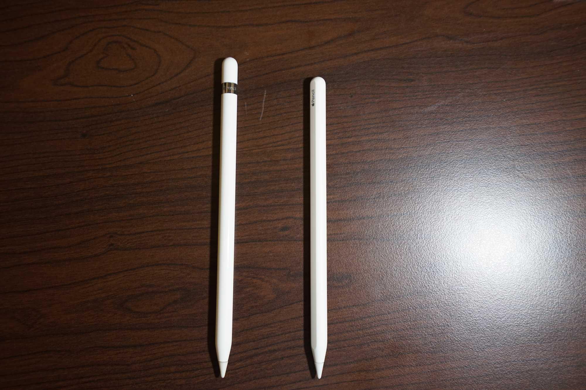 Apple Pencil 1 & 2 Compare