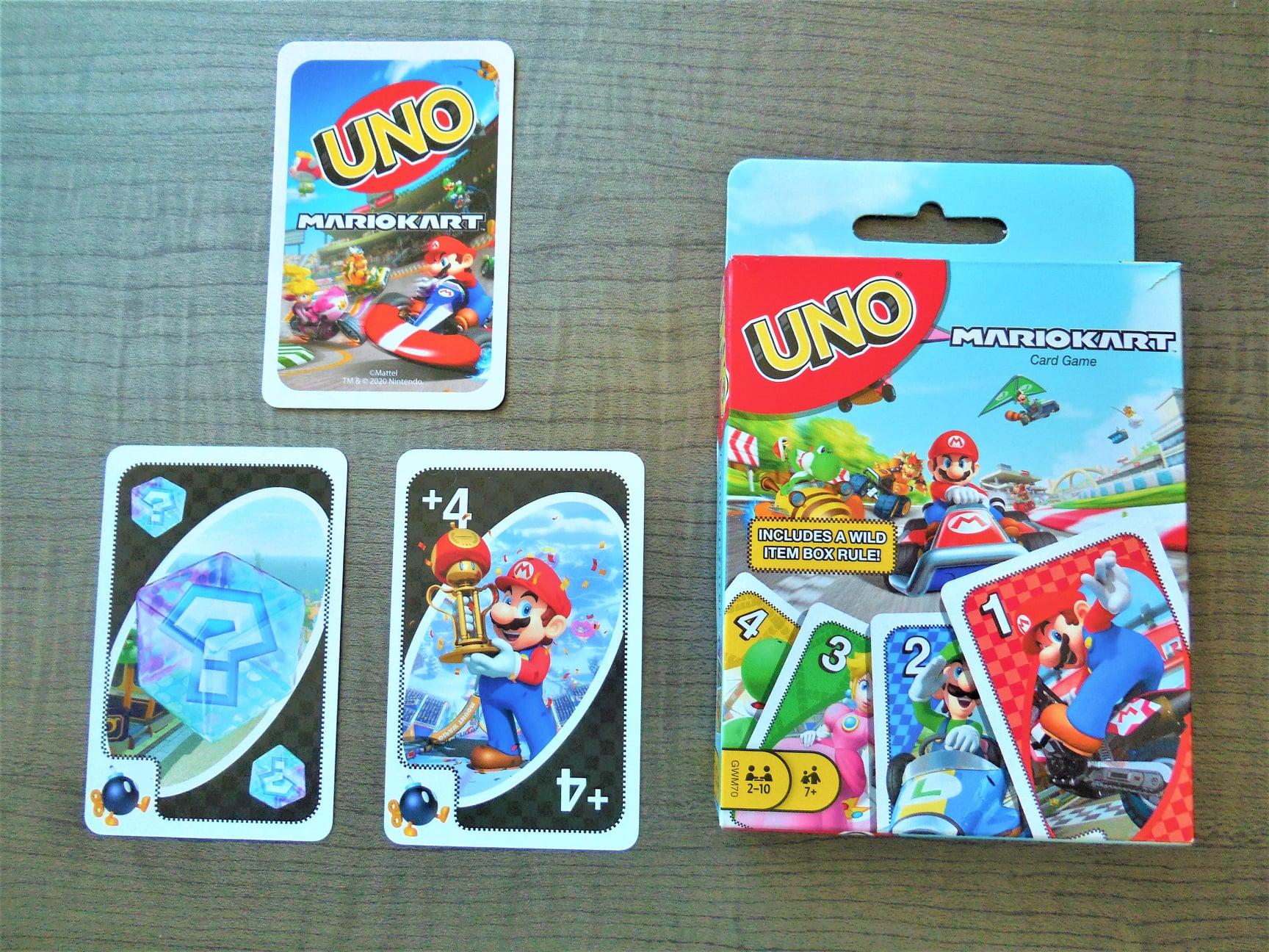 Mario Kart Uno Card Game