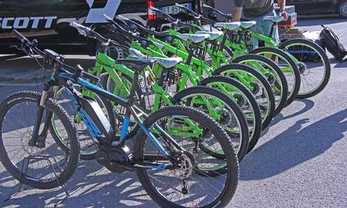 Le bici Scott utilizzate