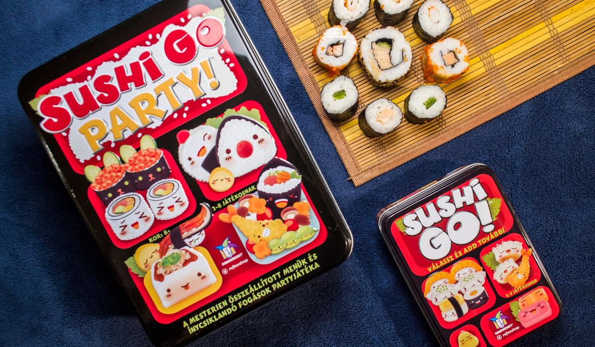 Sushi Go Party! – Sushi Go ínyenceknek