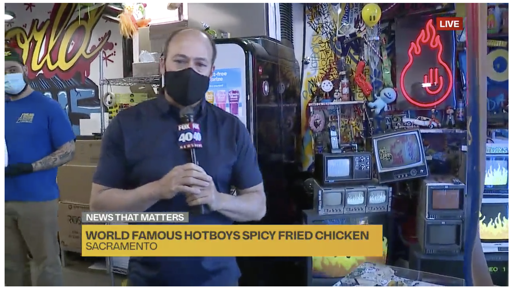 Hotyboys Fox 40