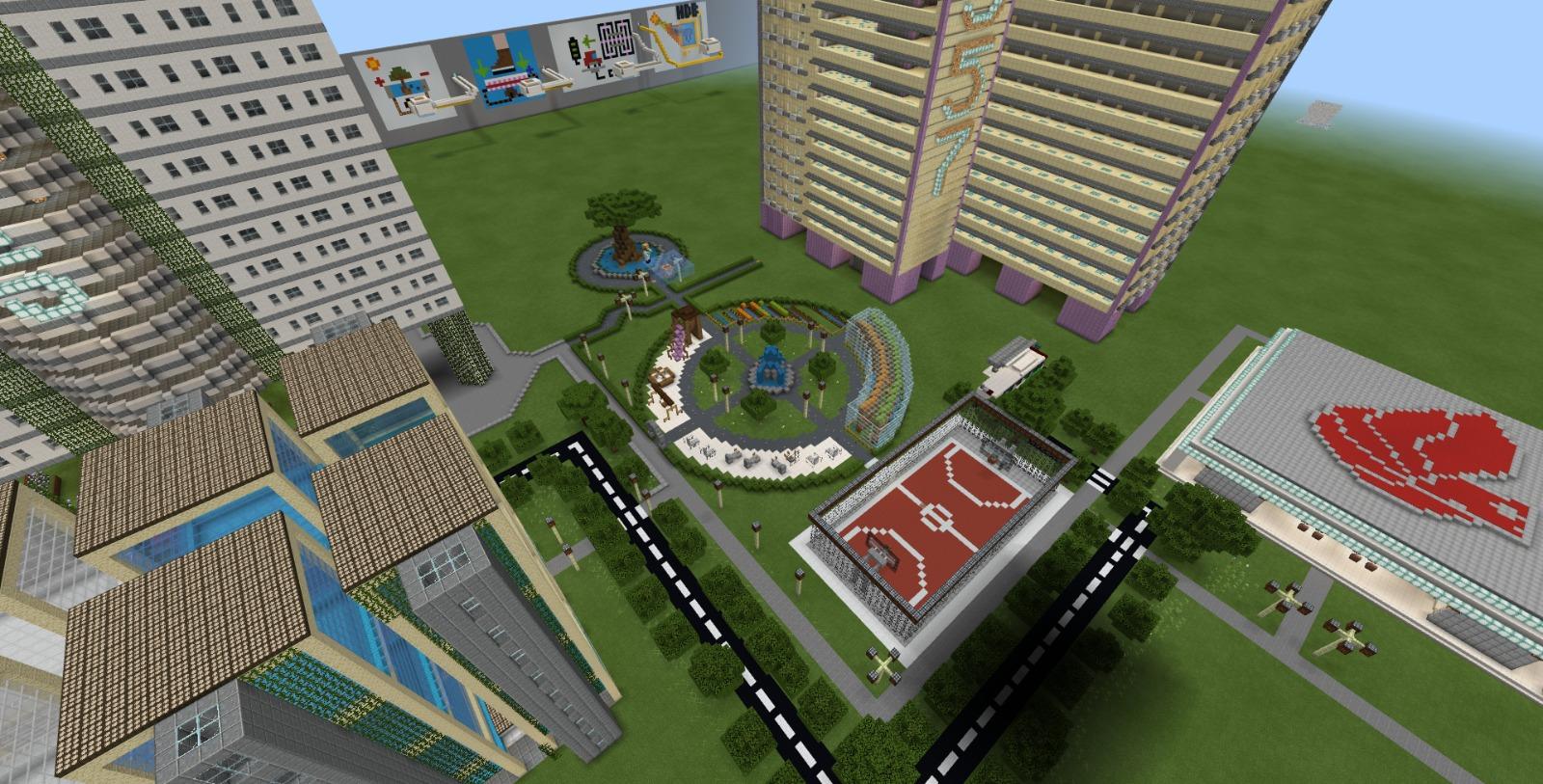Overview in Minecraft
