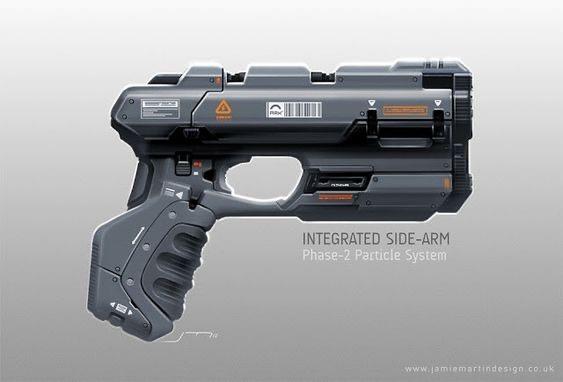 Badass looking sci-fi gun