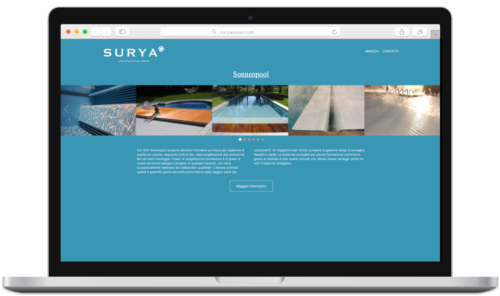 project image - Surya Swiss Website