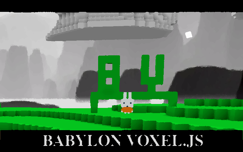 BABYLON Voxel.js