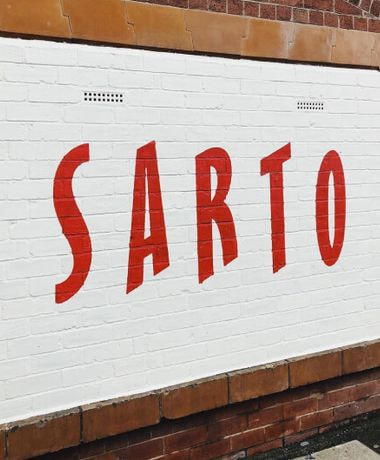 Sarto Leeds Signage
