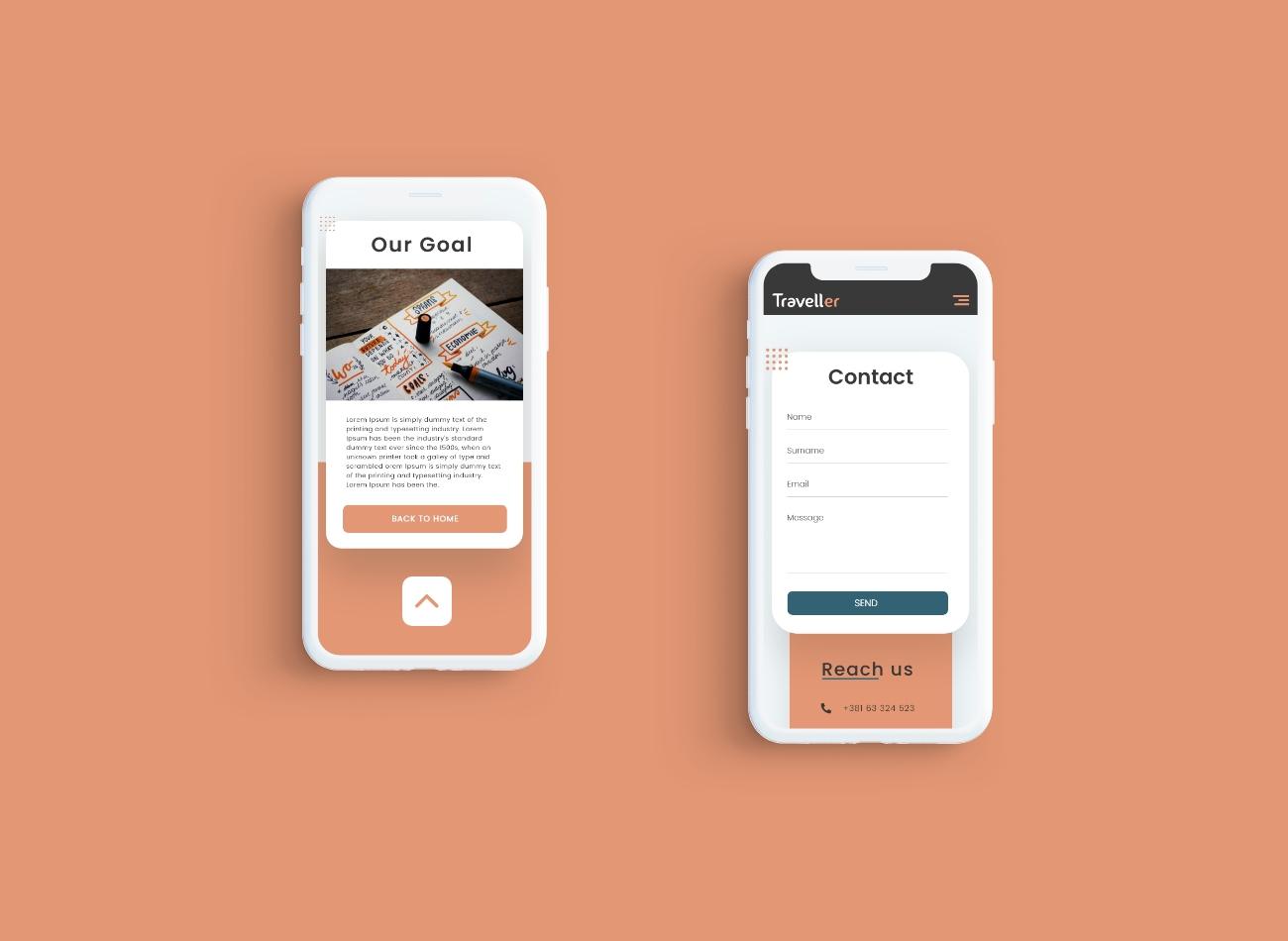 Mobile Design Mockup3